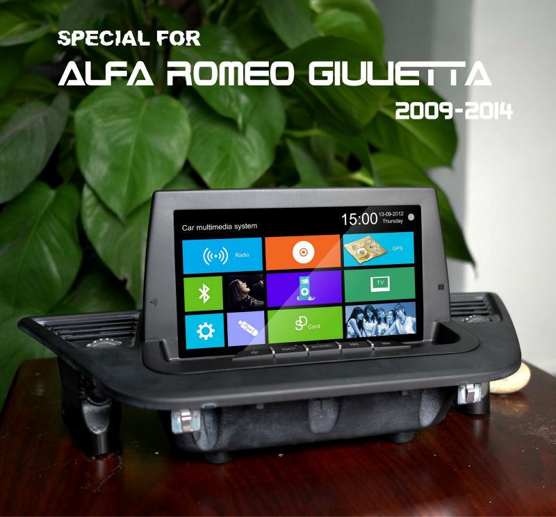 product detail Alfa Romeo Giulietta central multimedia