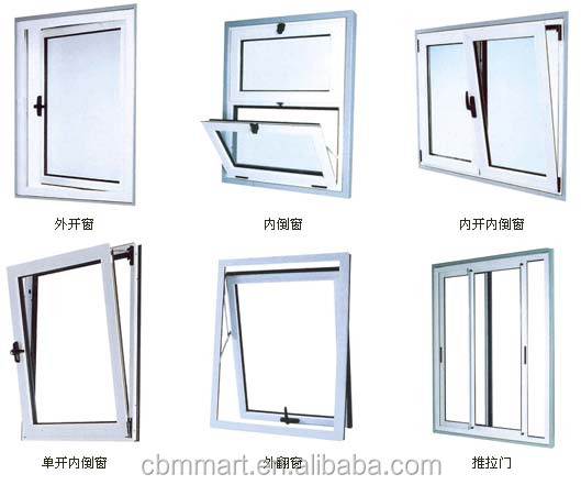 Folding Open Style and Finished Surface Finishing MDF Wood Sliding Door