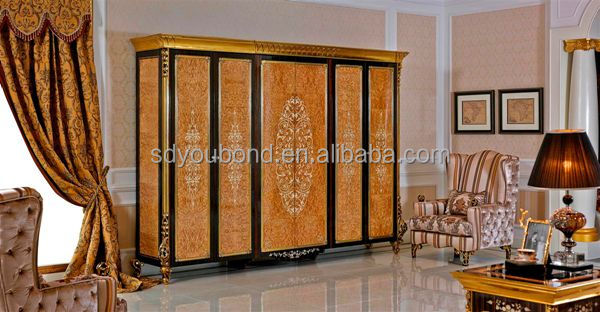 0061 italy new design luxury classical wooden bedroom furniture - Luxury Bedroom Sets Italy