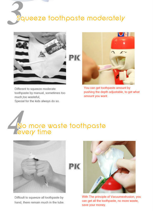 touch me toothpaste dispenser instructions