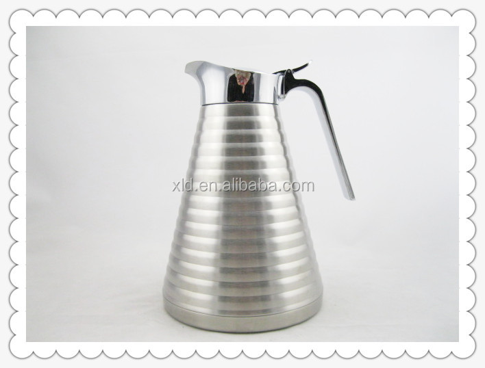 Stainless Steel Best Coffee Thermos Silver Pot For Of