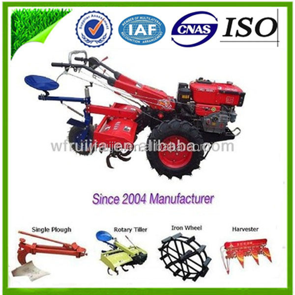 8/10/12/15hp China Supplier Walking Tractor Mini Agricultural ...