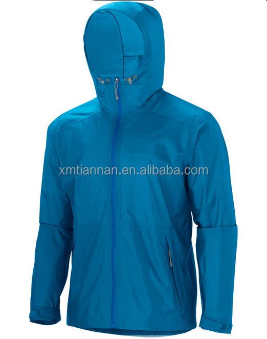 Mens Foldable Polyester Windbreaker Jacket Custom Windbreaker ...