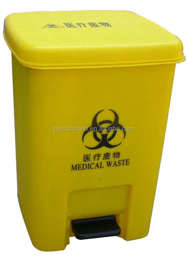 Plastic Disposables Sharpes Container /sharpes Bin For Medical ...