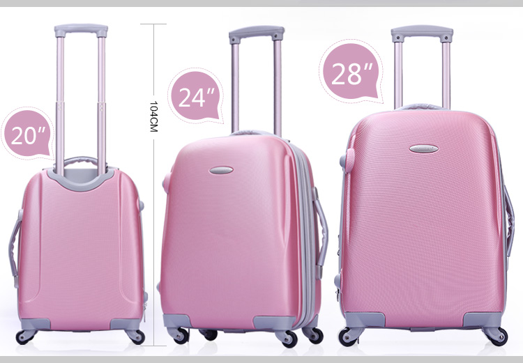 Hard Shell Abs Pc Luggage Suitcase 2014 Popular Fashion Abs pc ...