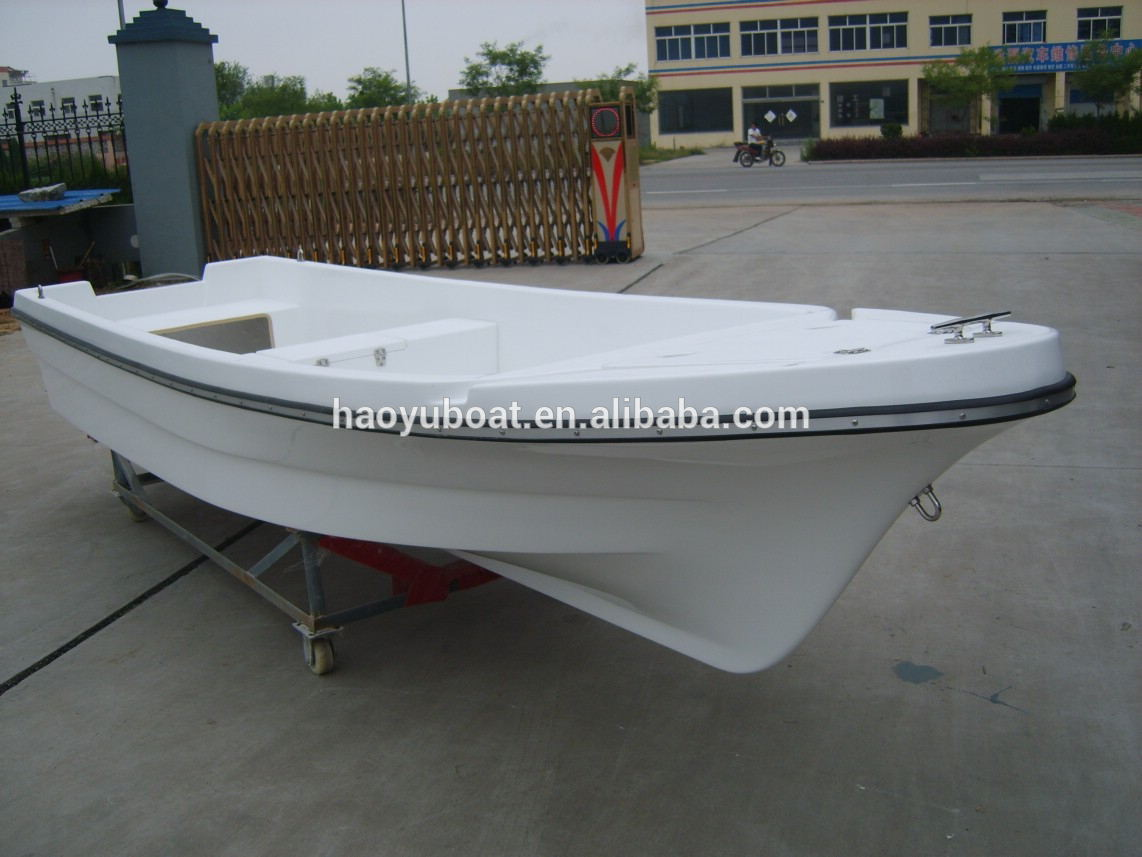 Double Hull Fiberglass Fishing Boat For Sale