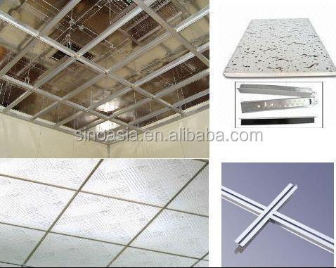 Waterproof Aluminum Foil Back Vinyl Faced Gypsum Ceiling