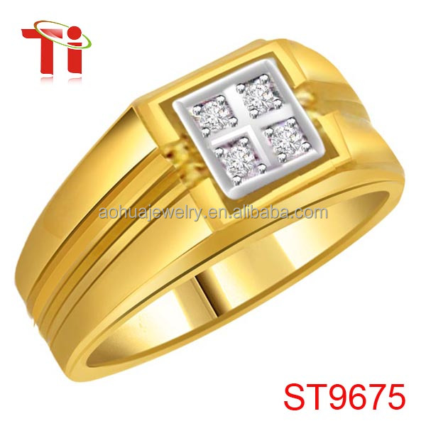 fashion stainless steel mens wedding band yellow gold mens diamond band rings sepical design wedding - Mens Wedding Rings Gold