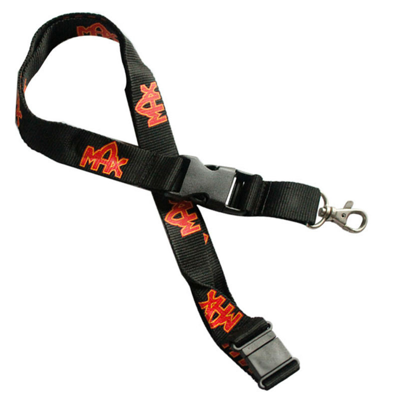 Hot sale fashion custom polyester microsoft lanyard