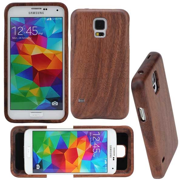 luxury hard case wood case cover for samsung galaxy s5. Black Bedroom Furniture Sets. Home Design Ideas