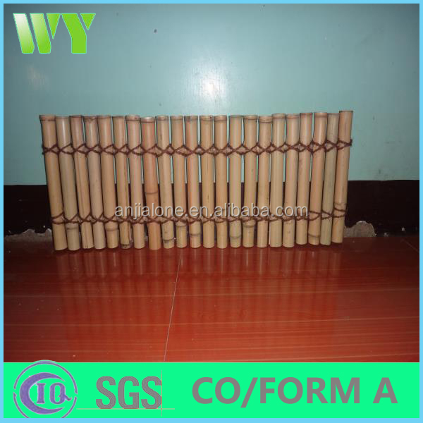 Decorative bamboo panel bamboo fence