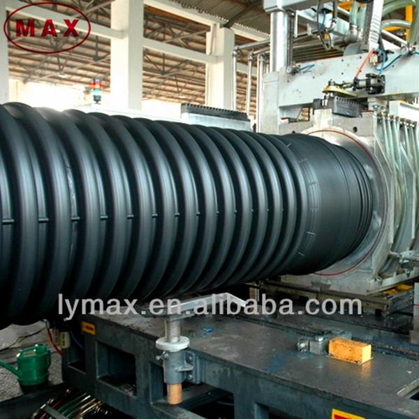 large diameter hdpe pipe underground 2 corrugated drainage