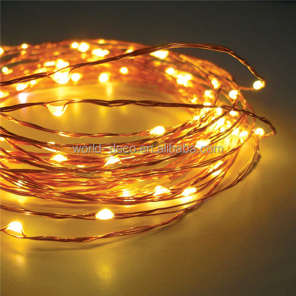 12v Mini Led Copper Wire String Lights / Ultra Thin Led Fairy ...