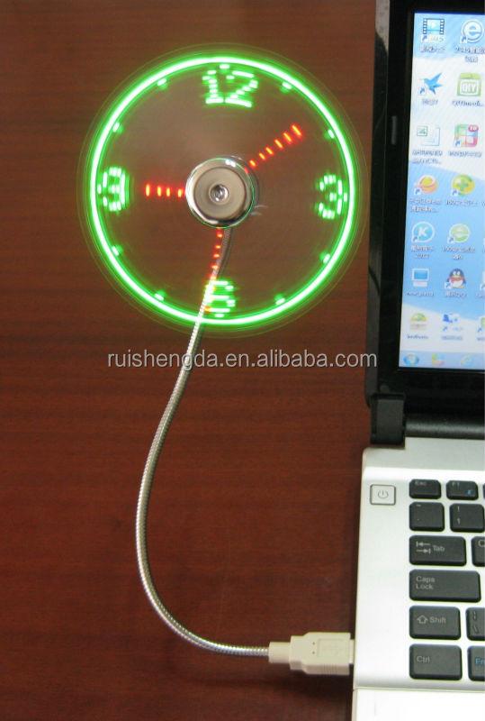 Usb Fan Clock
