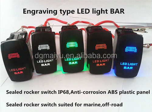marine 20a rocker switch 12v 24v illuminated led waterproof buy Wiring 12vdc Switches Illuminated marine 20a rocker switch 12v 24v illuminated led waterproof LED Illuminated Switches