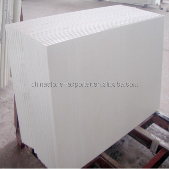 Pure White Marble Laminate Flooring