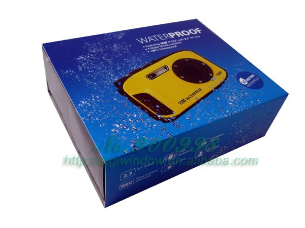 Newst 16 Megapixels Waterproof Digital Camera with Digital Zoom 2.7 inch LCD (DW-DC188)