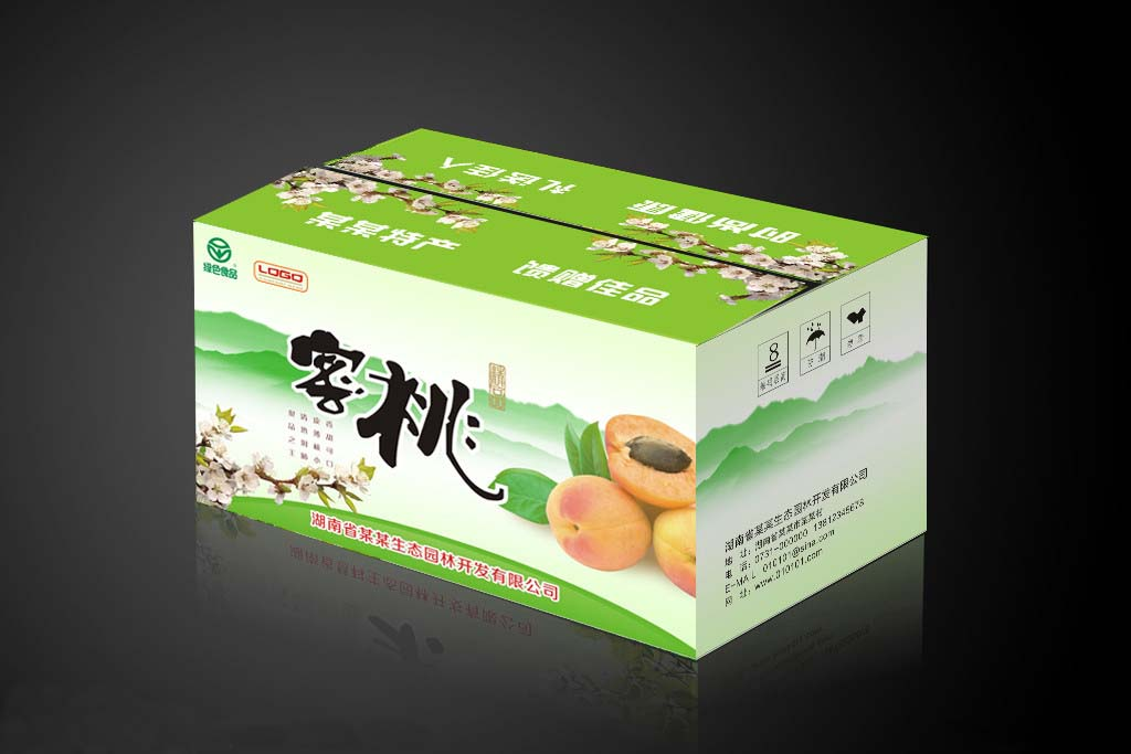Nice Fruit Packaging Box/beautiful Corrugated Paper Box For Fresh ...