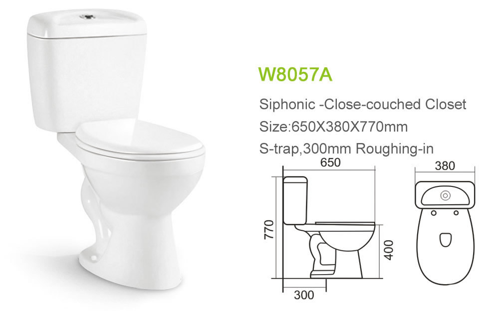 Classy Promotional Sales Siphonic Western Standard Toilet