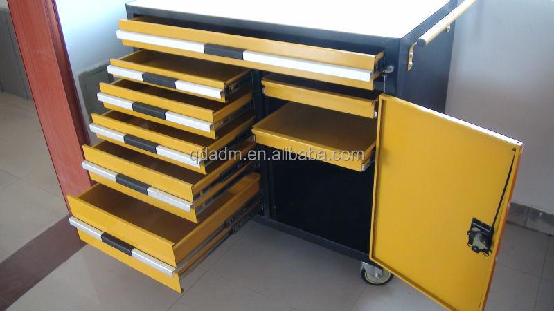 oem fabrik garage werkstatt industrie schwere metall stahl holzplatte werkzeugwagen buy. Black Bedroom Furniture Sets. Home Design Ideas