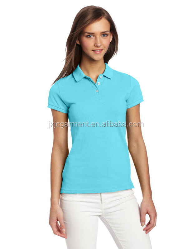 Cheap women 39 s polo shirt tight polo shirt women wholesale for Cheap polo collar shirts