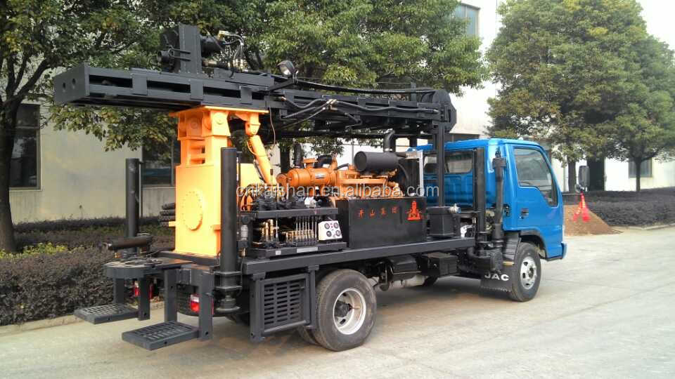 Kw20 China Supplier Air Compressor Water Well Drill Machine From ...