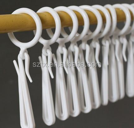 7 5cm Adjule Plastic Curtain Hook For Curtains Display
