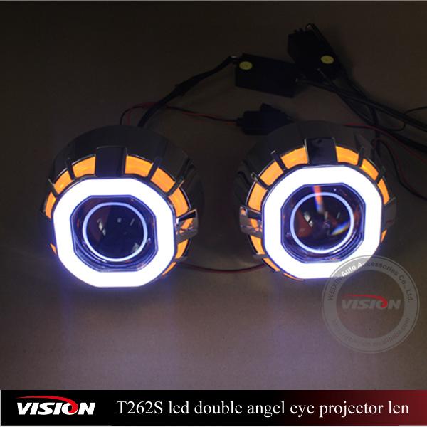Iphcar Vs-t262s Car Led Projector Hi/lo Hid Bi-xenon Projector ...