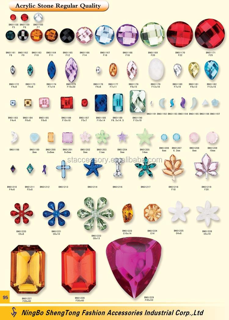 Various Designs And Colors Gemstones List - Buy Gemstones List ...
