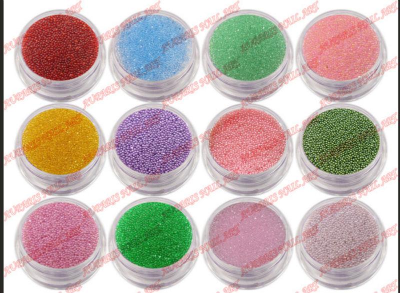 2014 New Wholesale Mix Colors Tiny Circle Bead Decoration 3d Nail ...