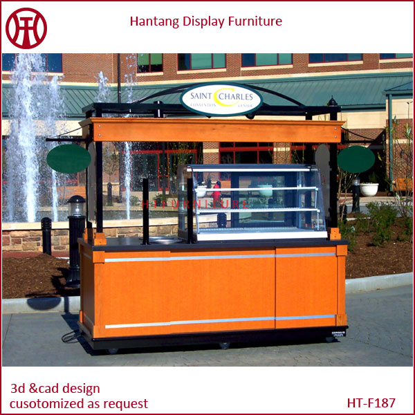 Newest Design Low Price Street Outdoor Mobile Cafe And