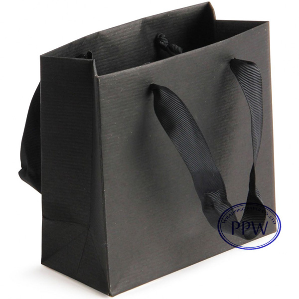 Gift Paper Bags Bag Design Handmade Black