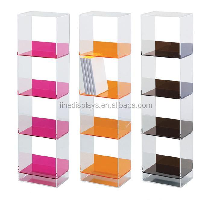 Acrylic cd dvd racks shelves dvd acrylic storage furniture for Meuble cd dvd ikea