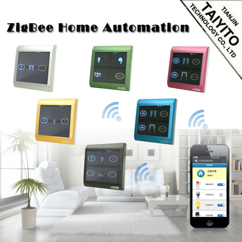 protocol open home domotica smart home system wifi. Black Bedroom Furniture Sets. Home Design Ideas