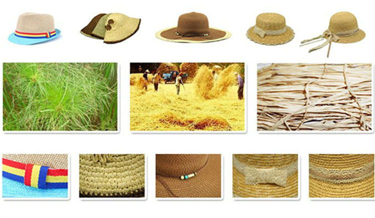 Wholesale Women Multi-colors Straw Hat sexy lovely wide wire brim Summer Beach Sun Straw Floppy hat