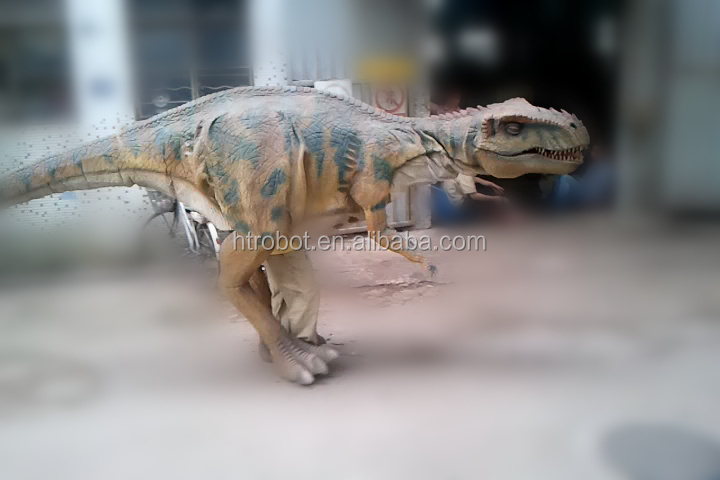 Customized t-rex costume adult