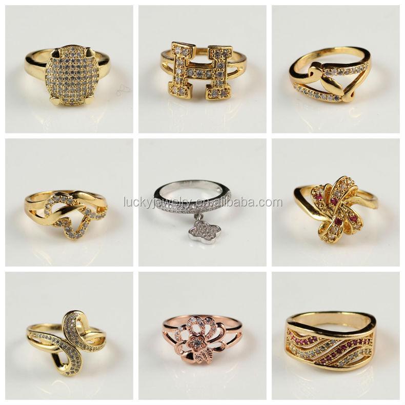 Cheaper Price Men Boy Diamond Ring Fashion Ring Gold Finger Ring ...