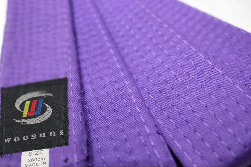 Solid Karate Belt Purple