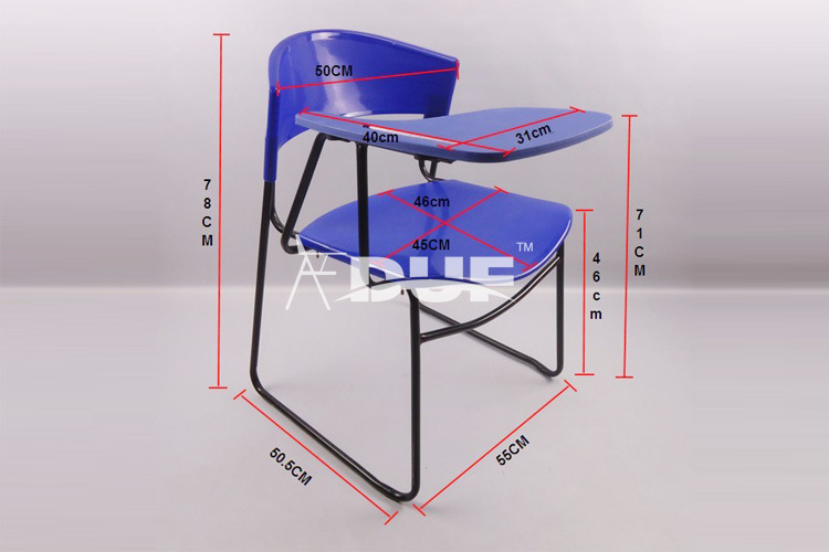 classroom flip chair with writing tablet basket tablet arm chair wholesale price free shipment50