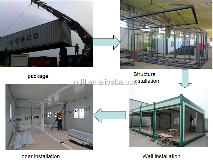 Steel Prefab Commercial Chicken House in Poultry Farm house