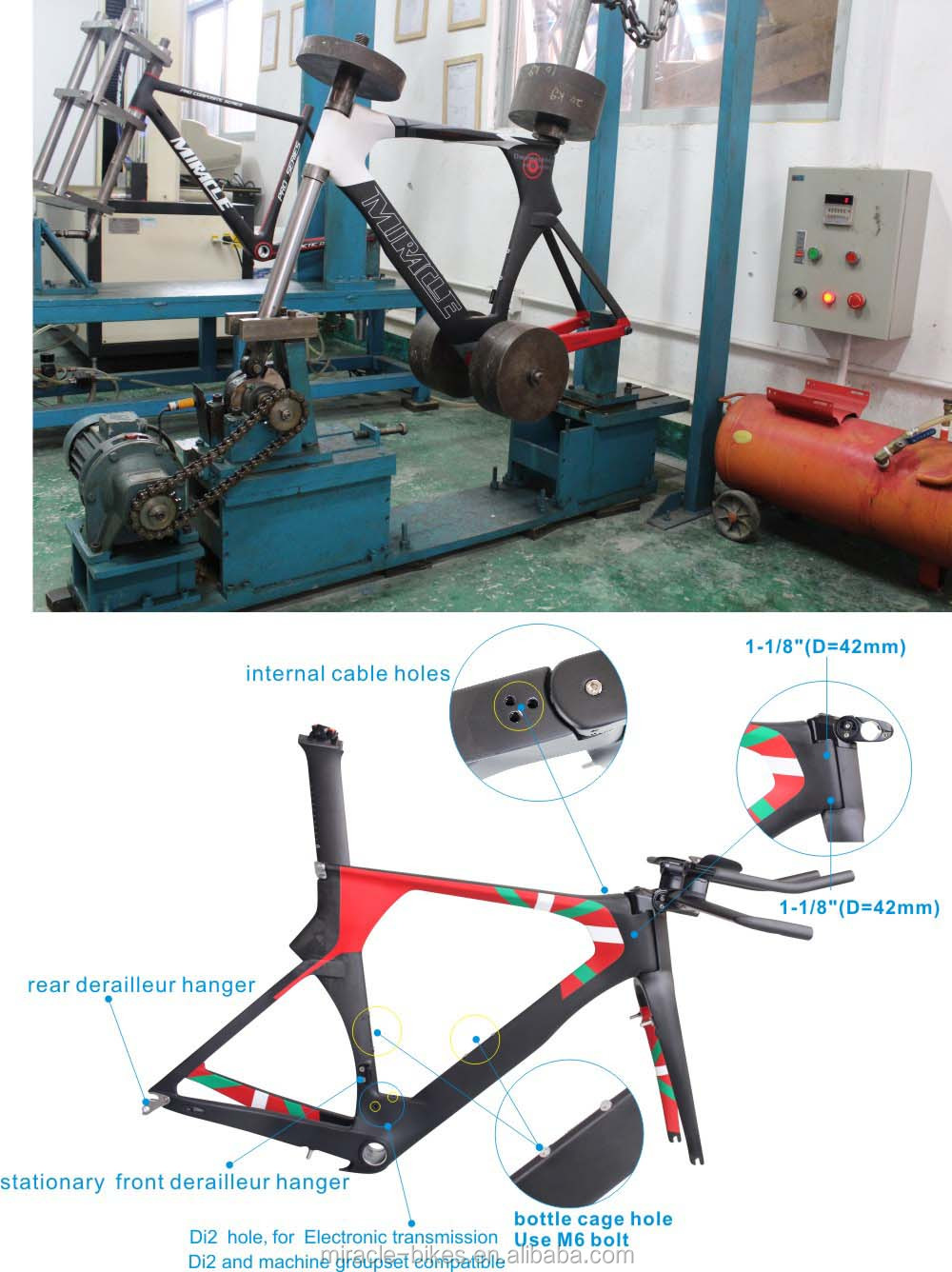 Carbon Frame Triathlon,China Design Bicycle Frame Integrated ...