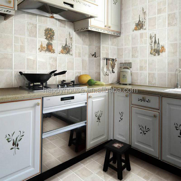 Foshan marble design ceramic kajaria kitchen tile buy for Bathroom designs kajaria