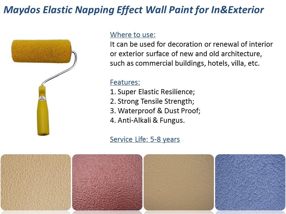 Maydos Zero Voc Washable Latex Acrylic Resin Interior Silk Plaster ...