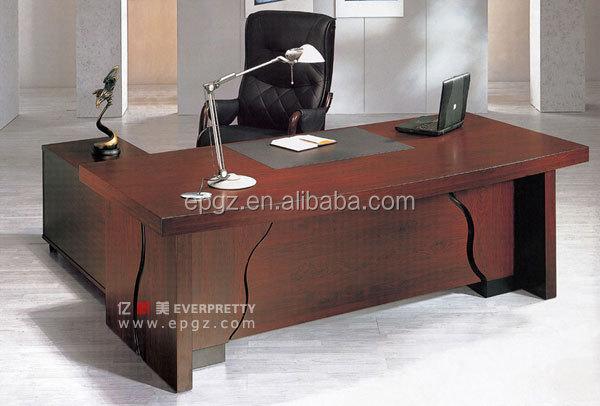 Modem luxe kantoor tafel bureau voor baas en manager buy goedkope