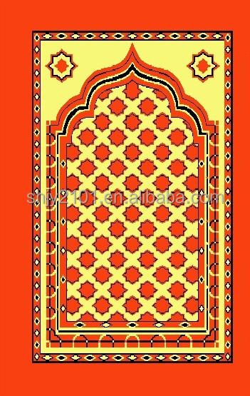 Superior Modern Design Muslim Prayer Rug,new Prayer Mat