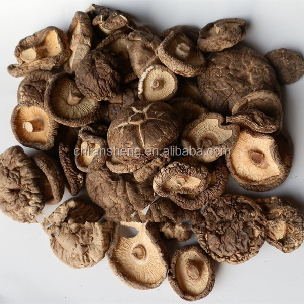 Chinese native  dehydrated shiitake mushroom   flakes / slices