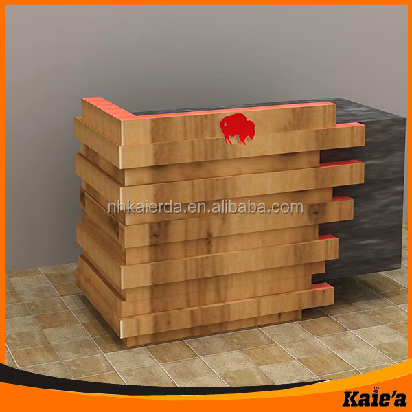 New Kaierda Wood Cash Counter Table/ Cash Counter Table Design ...