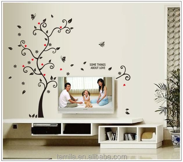 2014 New Removable Photo Frame Wall Sticker