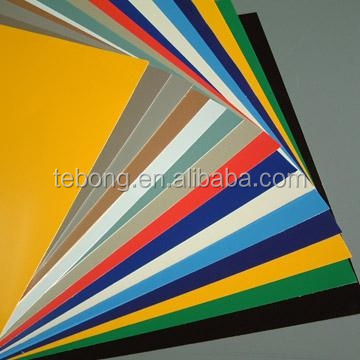 colored anodized aluminum sheets aluminium cladding sign material, coloring