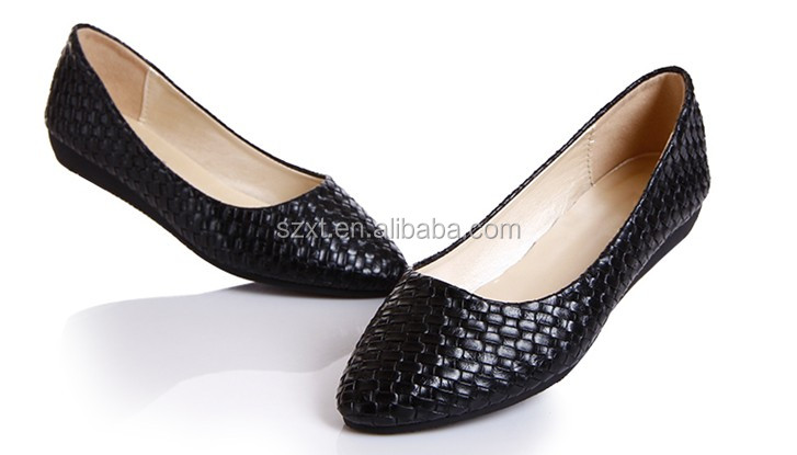 2014 New Girl Flat Shoes New Design Fashion Lady Shoes Latest ...